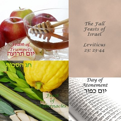 The Fall Feasts of Israel by Jacques Isaac Gabizon