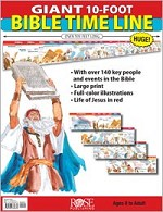 Classroom Giant 10-foot Bible Time Line Pamphlet